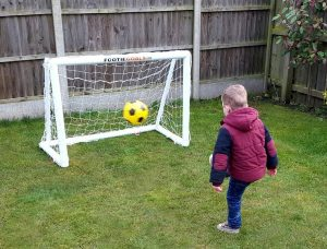 Kids Football Goals Image Gallery - goals-4x3 small garden goalposts