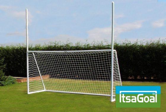 Combination Goalpost 8×6 – Rugby Gaelic Football Goalposts