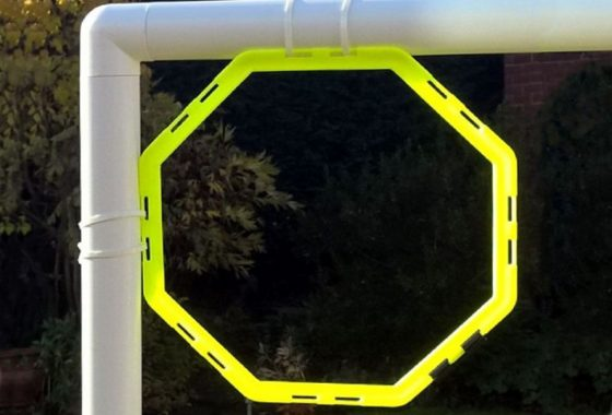 Football Goal Target Without Net
