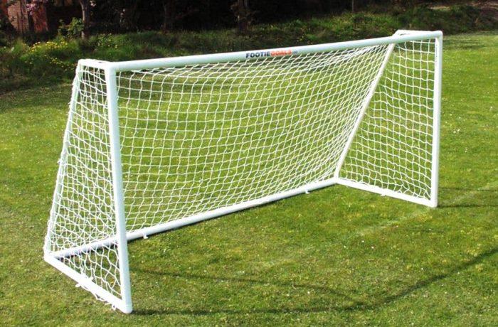 Garden Football Goals 12x6 Multi-Surface goalposts