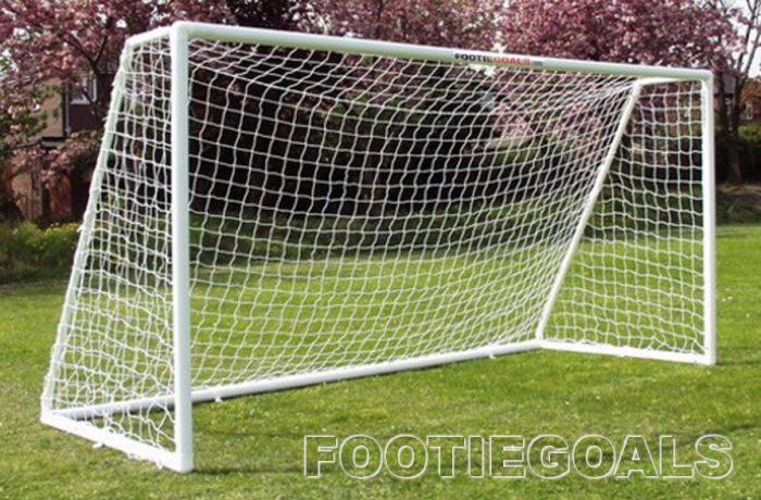 Garden Football Goals 8x6 Multi-Surface Goalposts