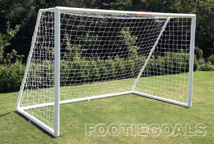 Garden Football Goals 8x6 Multi-Surface goalposts