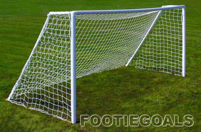 Football Garden Goal 12x6 Grass Surface - Garden Goals Grass Surface Goalposts