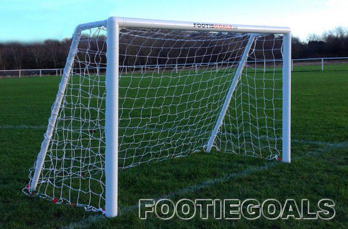 Garden Football Goals 6x4 Garden Goals Grass Surface Goalposts