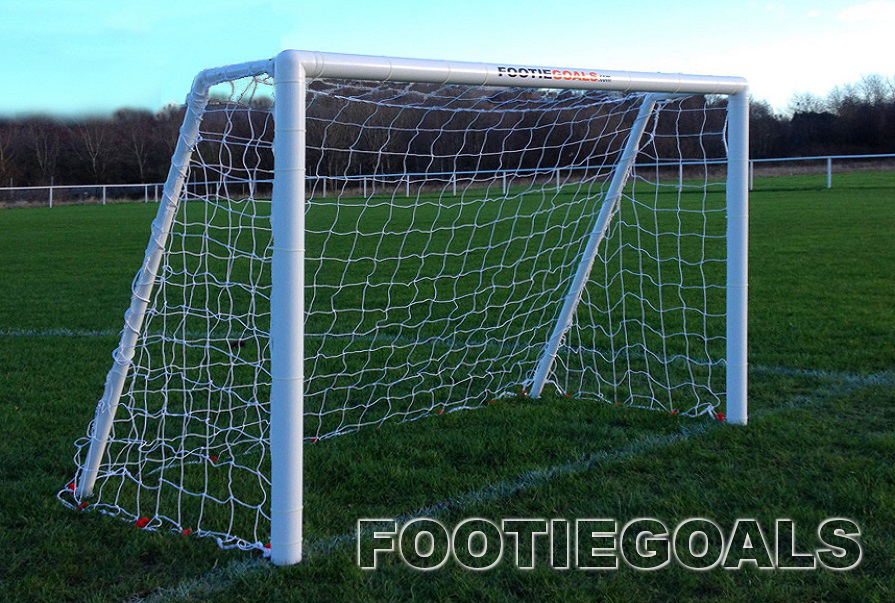 Garden Football Goals 6x4 Garden Goals Grass Surface Goalposts