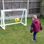 Kids Garden Football Goals-4x3 Small Garden Goalposts