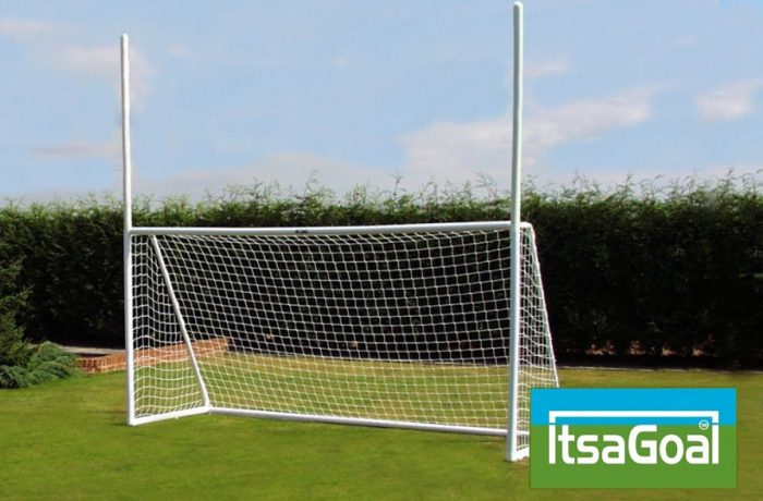 Rugby football gaelic football goalposts 12x6 by ITSA Goal Posts