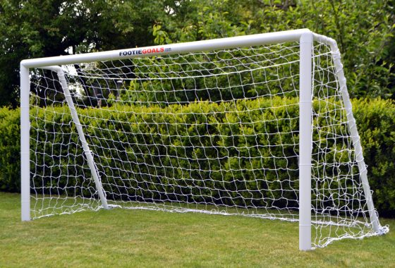 Garden Football Goal 8×4 Grass Surface
