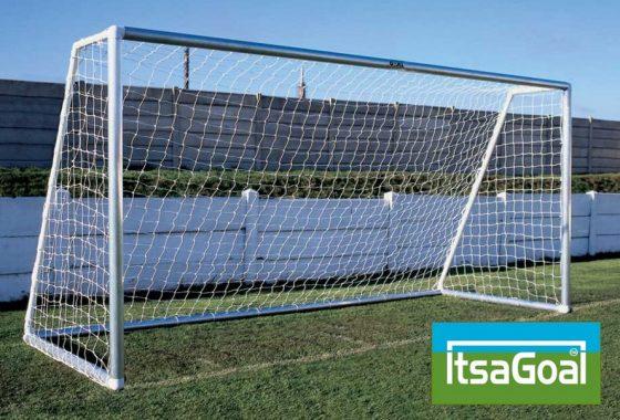 Metal Garden Football Goal 12×6