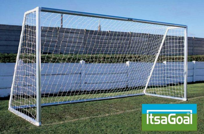 Metal Garden Football Goal 12x6