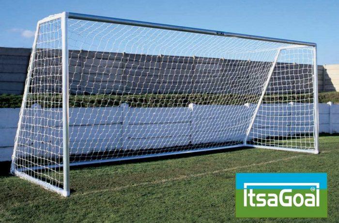 Metal Garden Football Goal 16x7
