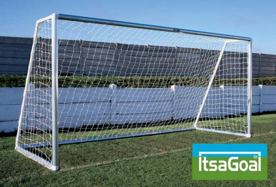 Metal Garden Football Goal 3m X 2m