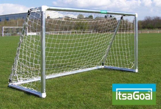 Metal Garden Football Goal 8×4