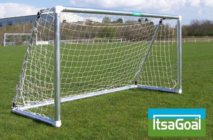 Metal Garden Football Goal 8x4