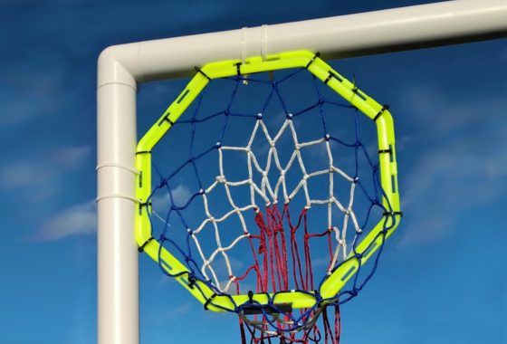Football Goal Target With Net