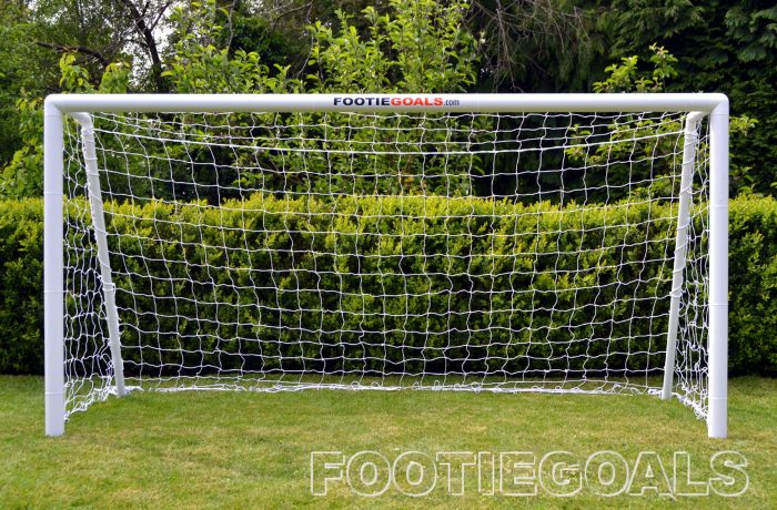 Garden Football Goal 8x4 Grass Surface